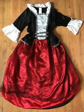 BUCCANEER Pirate HALLOWEEN COSTUME Victorian HOOP SKIRT Womens One Size S M L