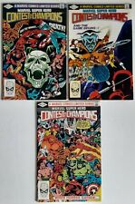 Marvel Super Hero Contest of Champions 1-3 Marvel Comics 1982 Limited Series 01