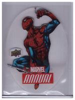 2016 Upper Deck Marvel Annual SPIDER-MAN #PD-10 Rare Insert Card PLEXI DIE-CUT