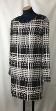 THAKOON-For-Design-Nation Black and White Abstract Mni Dress Size M