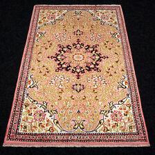 Orient Teppich Seide 80 x 54 cm Seidenteppich Perserteppich Silk Carpet Alfombra