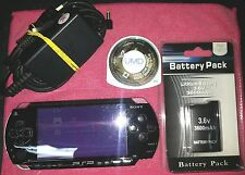 SONY PSP PLAYSTATION PORTABLE MOD.1004 NERA FUNZ. CON NEED FOR SPEED MOST WANTED