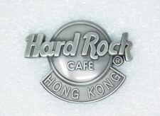 Hard Rock Cafe Pin  HONG KONG  3-D Classic Logo  Pewter