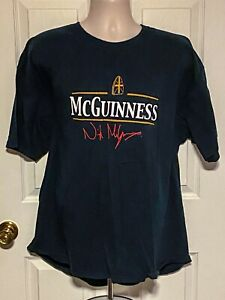 Nigel McGuinness No Bumps Required T-shirt XXL Vintage Rare ROH TNA WWE NXT