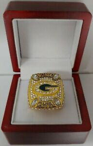 Aaron Rodgers - 2010 Green Bay Packers Custom Super Bowl Gold Color Ring W Box