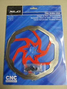 XLC Bike MTB Ebike DISC Brake Disc Rotor Br-X02 MTB 203mm Red