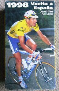 1998 Vuelta a Espana World Cycling Productions Double VHS Abraham Olano Clean