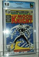 MARVEL SPOTLIGHT #28 CGC 9.0 VF/NM 1ST solo MOON KNIGHT 1976 new Disney+ show!
