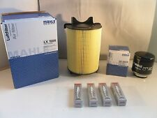 Audi A3 1.4 TFSI Service Kit Oil Air Filter Spark Plugs 2008 to 2010 MAHLE