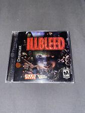 Illbleed (Sega Dreamcast, 2001) Complete In Box.