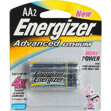 Energizer Advanced Lithium AA Batteries 2-Pack EA91BP-2  Exp 03/2018