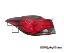 TYC NSF Left Outer Side Tail Light Assembly for Hyundai Elantra SE 2014-2015