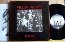"Virgin Prunes-HERESIE - 82 FR inv.0500 10"" DLP Box M -/+5 suppléments/neo psych"