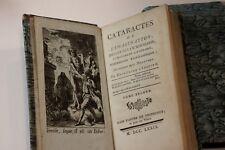 1779 Chassaignon Fou littéraire Cataractes de l'imagination Rare EO Bibliophilie