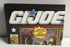 GI JOE Gijoe Checklist Dutch / French Poster RARE Unmarked