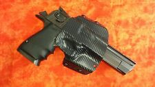HOLSTER BLACK KYDEX DESERT EAGLE 357 44 MAG 50 AE MAGNUM REASEARCH