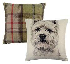 Lichfield Tartan Decorative Cushions