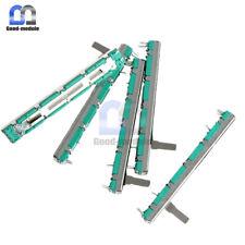 POT A10K X2 Slide Potentiometer 45mm travel Dual unit 73mm Length DW045 x10pcs