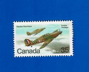 CANADA Scott # 876 Hawker Hurricane Single Stamp UNUSED H