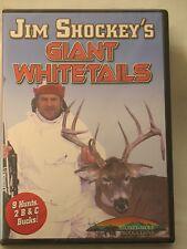 NEW & Sealed Jim Shockey's Giant Whitetails Deer Hunting DVD 1006B