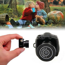 Y2000 Mini Smallest Camera Camcorder Video Recorder DVR Spy Hidden Pinhole Cam