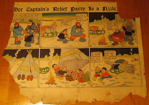 Katzenjammer Kids 1907 Der Captain's Party, Dirks Comic