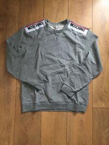 Moschino sweatshirt grey size xl