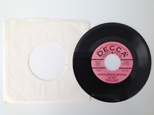 THE WHO: Anyway, Anyhow, Anywhere / Anytime You Want Me - Promo - 1965 - 45 - EX