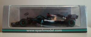 Spark 1/43 Lewis Hamilton F1 Mercedes W11 Winner Turkish GP 2020 Turkey (S6488)