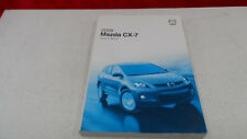 2008 Mazda CX-7 CX7 Owners Owner's Manual Guide
