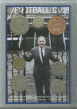 Tottenham Hotspur Spurs Vintage Bill Nicholson The Double Coin Fan Gift Set 1961