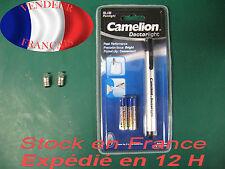 lampe stylo + 2 ampoule de rechange offerte !! docteur pompier  sécurité police