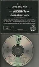 EOL ELEMENTS OF LIFE Love the Way 5TRX ACAPELA & INSTRUMENTAL PROMO DJ CD Single