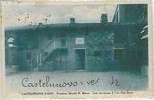 CARTOLINA d'Epoca ASTI provincia - Castelnuovo D'Asti 1927