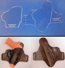 IWB/OWB CCW HOLSTER TEMPLATE SET -  FOR LEATHER CRAFTERS PRECISION LASER MADE