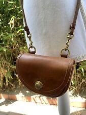 Genuine vintage COACH Leatherware tan leather mini belt bag crossbody fanny pack