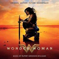 WONDER WOMAN Original Soundtrack CD NEW Rupert Gregson-Williams Sia Labrinth