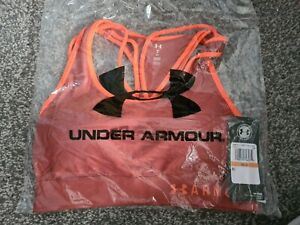 Under Armour Fitness Bra Strappy Crossback Large