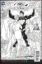SIGNED Lee Weeks & Aaron Lopresti Superman Lois & Clark #4 Coloring Book Variant