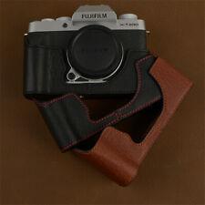 Half Case For Fujifilm XT200 Camera Retro Leather Cover Insert Handmade Case New