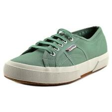 Scarpe da uomo verde Superga in tela