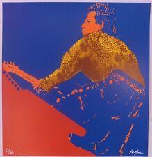 Ivan Messac Sérigraphie My Generation Keith Richards 2013