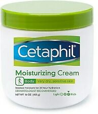 Cetaphil Moisturizing Cream Intense Moisturiser for Dry Sensitive Skin