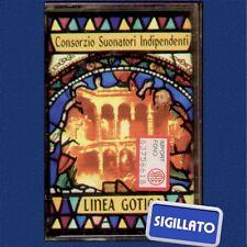 """C.S.I.CONSORZIO SUONATORI INDIPENDENTI """"LINEA GOTICA"""" MUSICASSETTA SIGILLATA MC"""