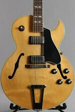 1981 Gibson ES-175 Arch Top Electric Guitar Natural