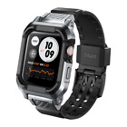 FITS FOR APPLE WATCH 44MM VERTEX SHOCK RESISTANT RUGGED PROTECTIVE BUMPER CASE