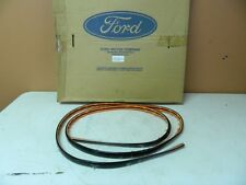 NOS 1998-2011 Ford Crown Victoria Front Bumper Molding Black Police XW7Z17C829AA