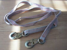 """Klein Tools Safety Harness Strap w Clips 1"""" x 120"""" - Look"""