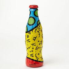 Romero Britto Coke Coca- Cola Bottle RED  Cap Figurine  New with tag