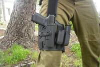 Tactical Drop leg plate  / Thigh Rig for Safariland, IMI Defense, Cytac Holsters